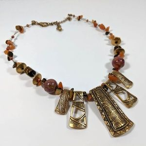 Chico's Jewelry - Chico's Boho Tribal Necklace